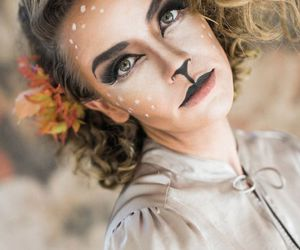 Halloween, makeup, and maquillaje image