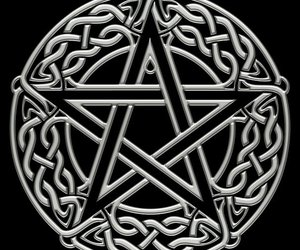 celtic, witchcraft, and pentacle image