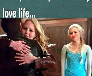 elsa, funny, and once upon a time image