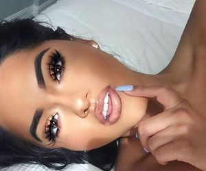 amazing, girl, and beauty make up image