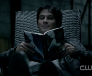book, funny, and the vampire diaries image