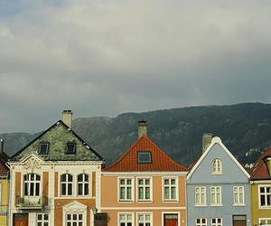 house, colors, and vintage image