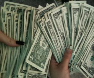money, pink, and grunge image
