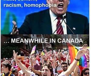 canada, homophobia, and racism image