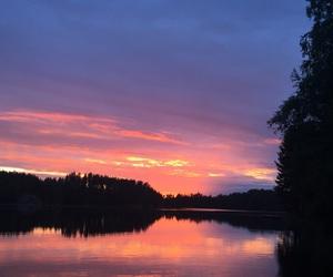 2016, finland, and lake image