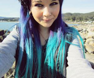 blue hair and ambrehhh is dead image
