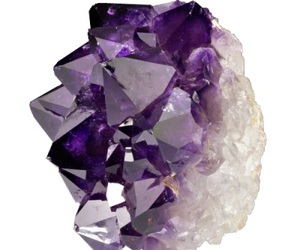crystal, purple, and white image