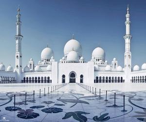 abu dhabi, allah, and mosque image