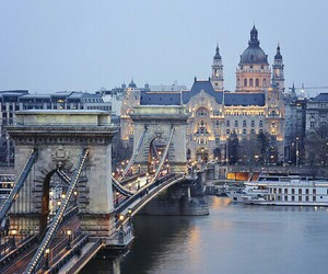 budapest, love, and hungaria image