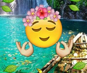 peace and emojis image