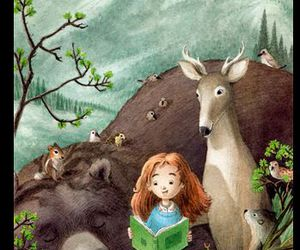 animals and read image