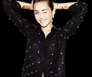 miley cyrus, overlay, and smilers image