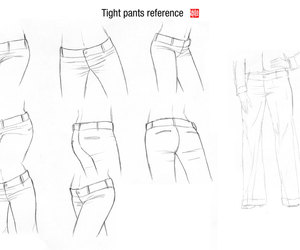 drawing and reference image