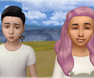 the twins, s4, and the sims 4 image