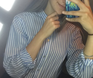 chemise, iphone, and miroir image