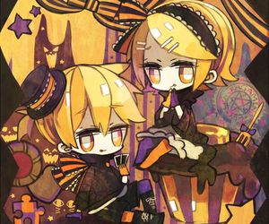 Halloween, vocaloid, and len kagamine image