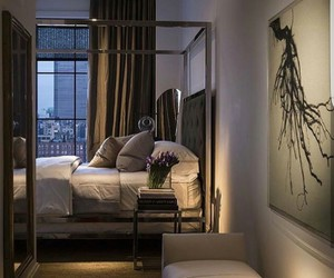 bedroom, luxury, and style image