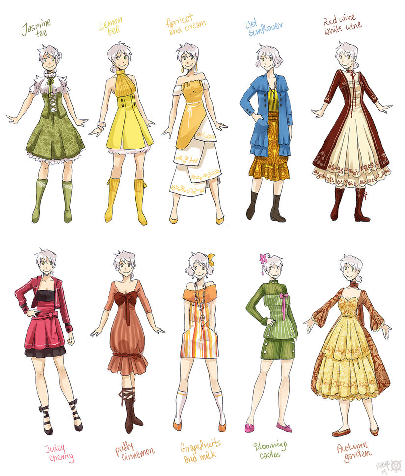 Various female clothes 2 by meago on we heart it