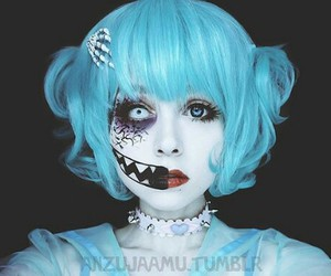 Halloween, make up, and cosplay image