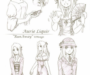 character, drawing, and reference image