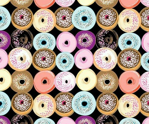 wallpaper and donuts image
