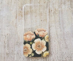 case, flowers, and floral image