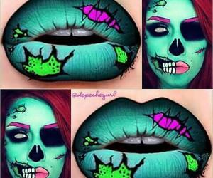 Halloween, lips, and make up image