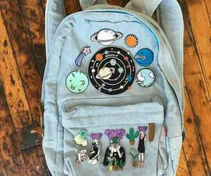 bag, tumblr, and backpack image