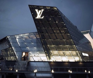 Louis Vuitton, architecture, and luxury image