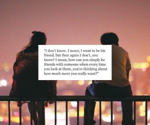 quote, just friends, and it's over image