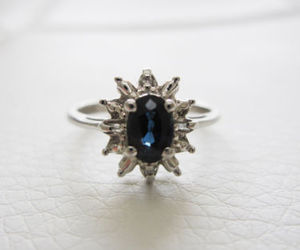 antique, diamond, and engagement image