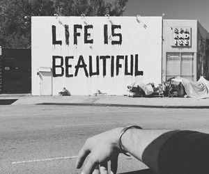 beautiful, positive, and black and white image