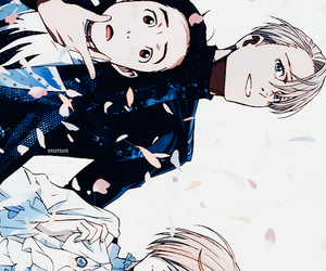 anime, yuri, and yuri!!! on ice image