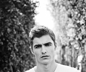 black and white and dave franco image