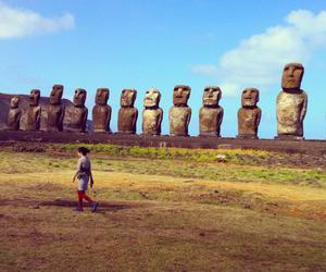 bjork, easter island, and lovely image