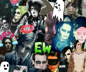 joshua balz, motionless in white, and chris motionless image