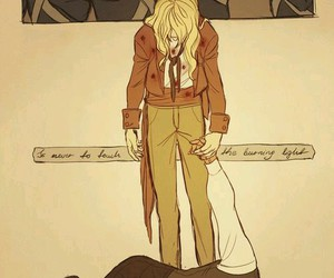 grantaire, enjolras, and dead image