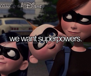 disney, because of disney..., and incredibles image