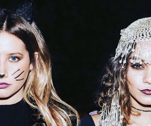 vanessa hudgens, ashley tisdale, and Halloween image