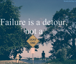 failure, dead end, and detour image