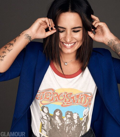 demi lovato, smile, and beauty image
