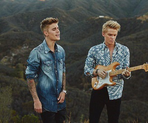 justin bieber, boy, and cody simpson image
