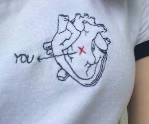 heart, you, and love image
