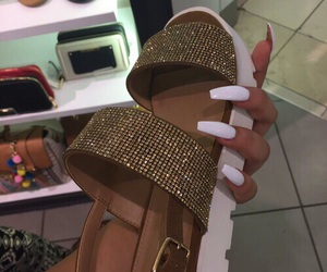 shoes, sandals, and nails image