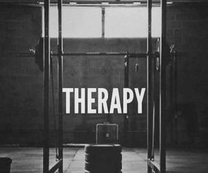 fitness, gym, and therapy image