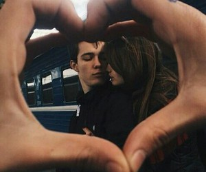 boy, girl, and boyfriend image