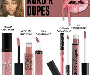 dupes, makeup, and kylie jenner image