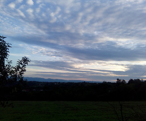 autumn, beautiful, and clouds image