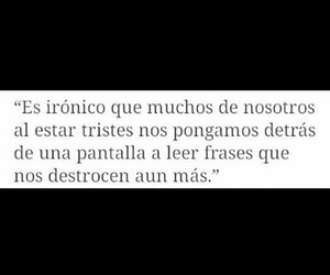 frases, personas tristes, and noches solas image