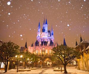 disney, snow, and winter image